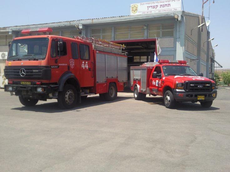 fire trucks from israel