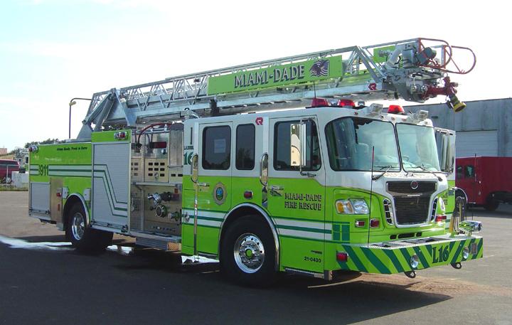 Rosenbauer Quint - Miami-Dade Fire and Rescue