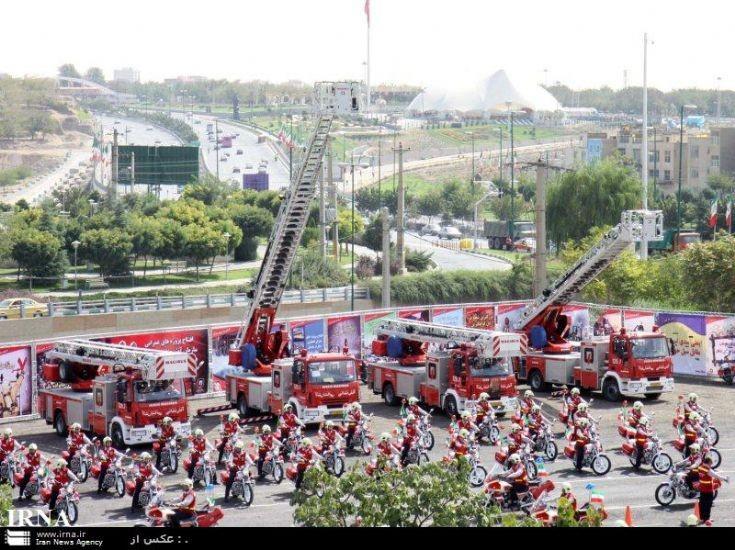 Tehran fire service Iran