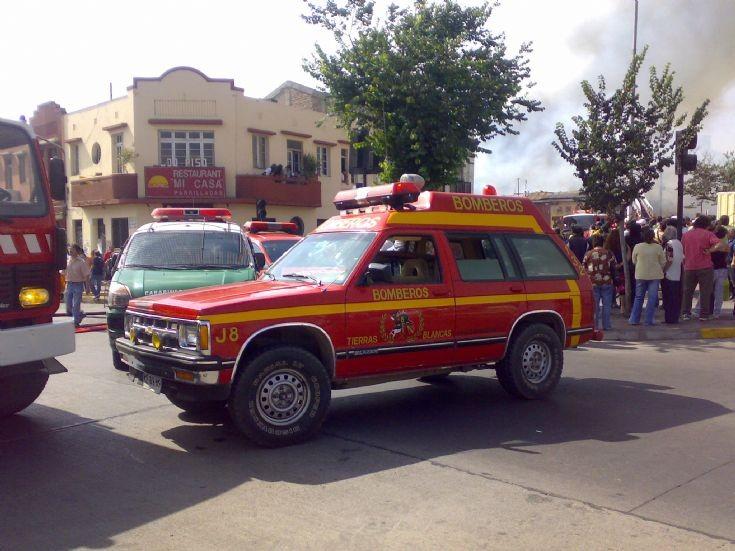 Bomberos Coquimbo. J-8