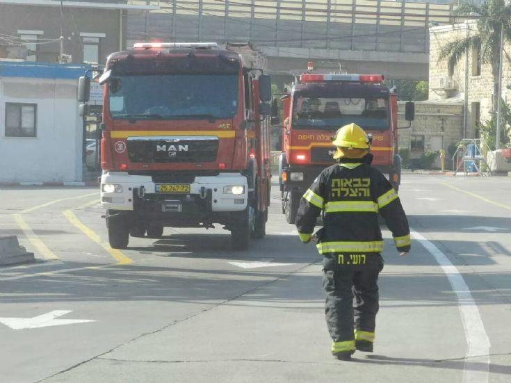 Training shift in Haifa, Israel