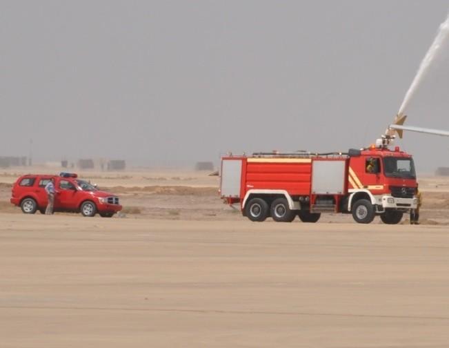 Iraq Fire Engine