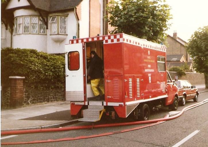 Dodge CF Fire Investigation unit