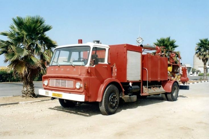 old fire truck from israel