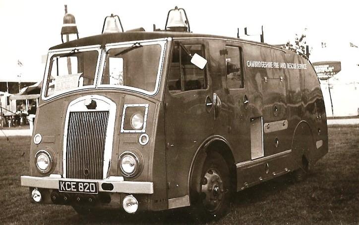 Dennis F8 WrT Cambridgeshire KCE820