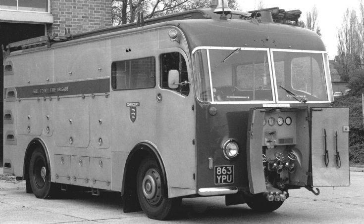 863YPU 1961, Leyland Firemaster/Haydons PEST