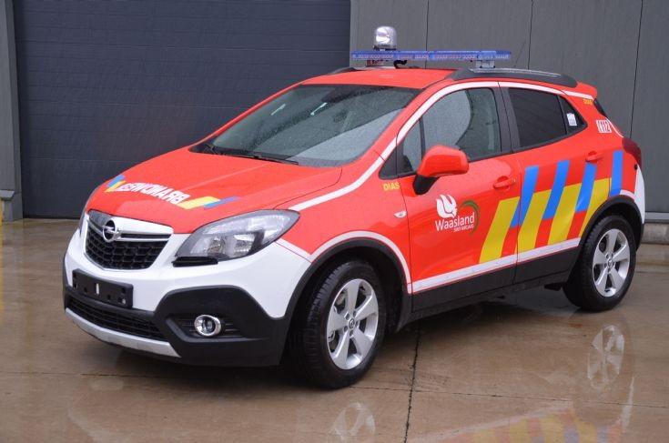 Command car Opel Mokka