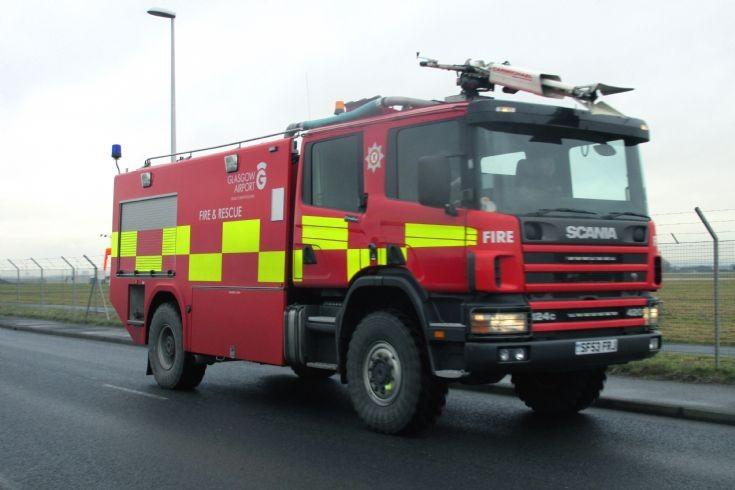 SF53FRJ Glasgow Airport Fire & Rescue