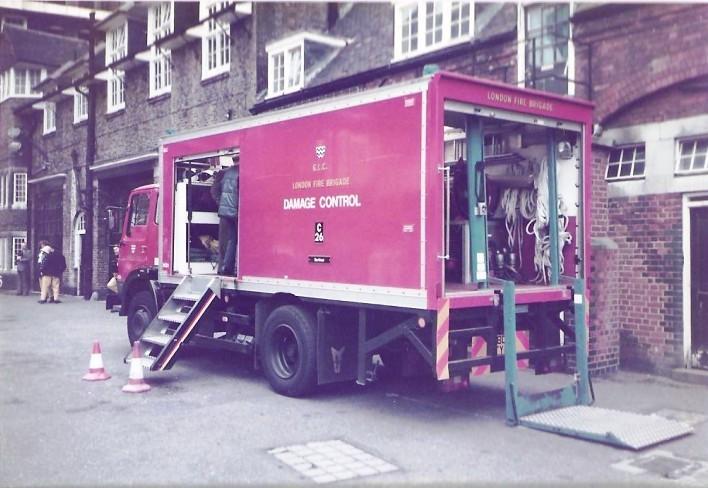 Dodge RG13  HDC London FB DCU A809TYO