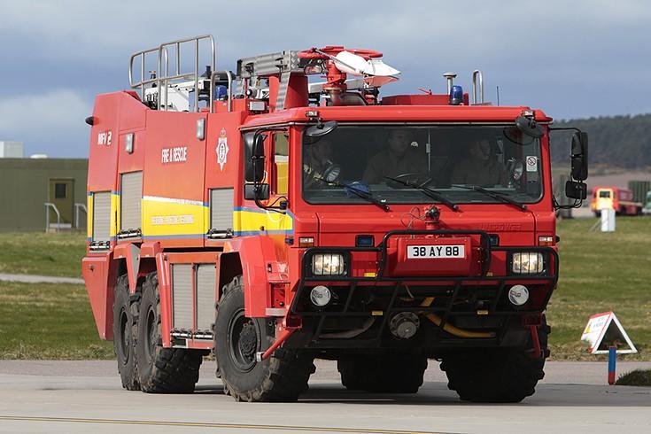 Unipower MFV2 38AY88 at RAF Lossiemouth