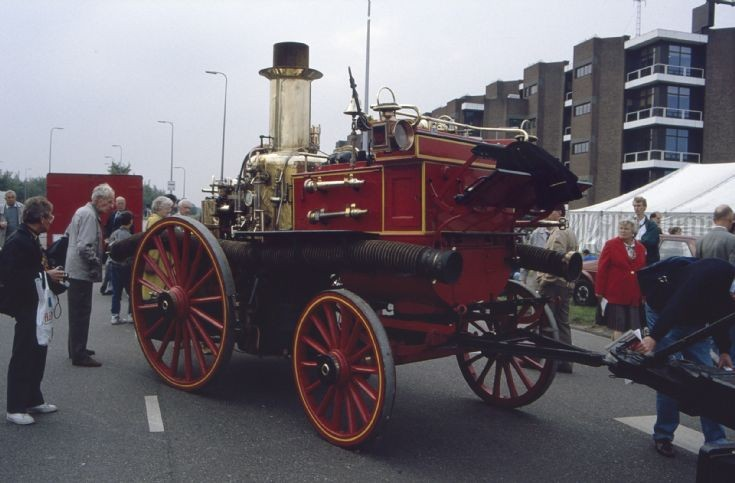 Shand Mason Horse Drawn Fire Engine Amsterdam