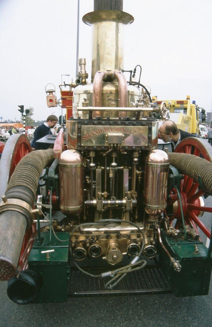 Shand Mason Horse Drawn Fire Engine Amsterdam