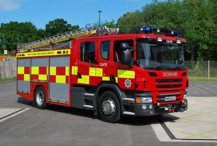 2015 Scania P320 West Sussex Fire & Rescue Service