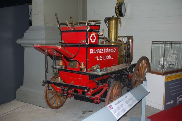 1895 Shand Mason Brussels Autoworld Museum