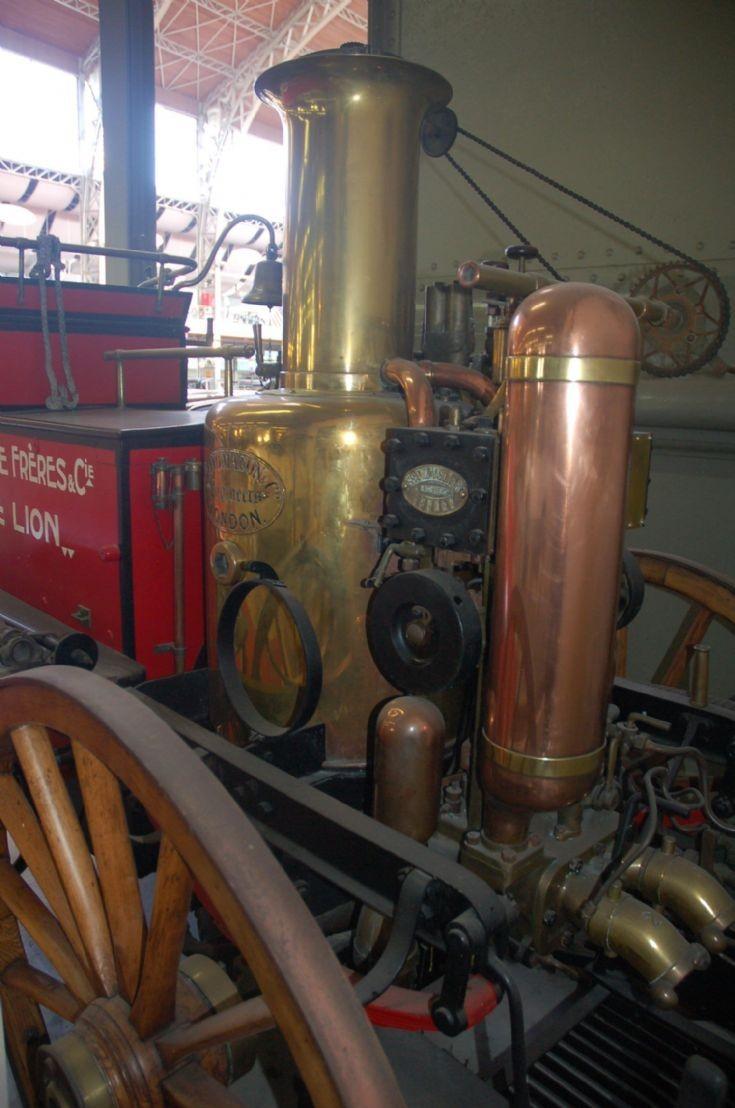 1895 Shand Mason Brussels Autoworld Museum