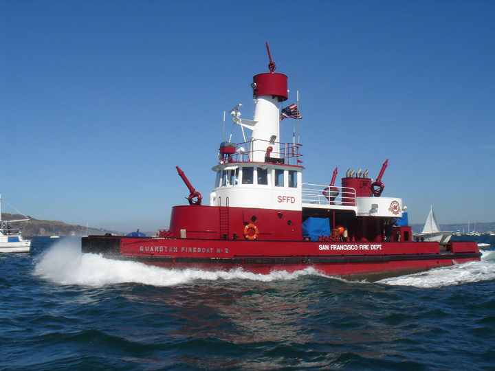 Fireboat Guardian SFFD