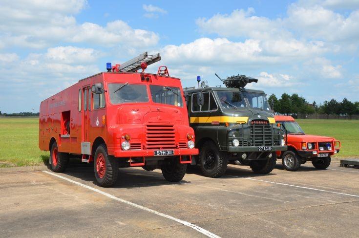 Line up RAF Museum