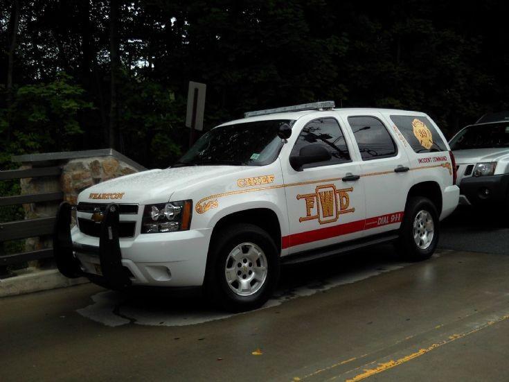 Wharton NJ Fire Dept command car