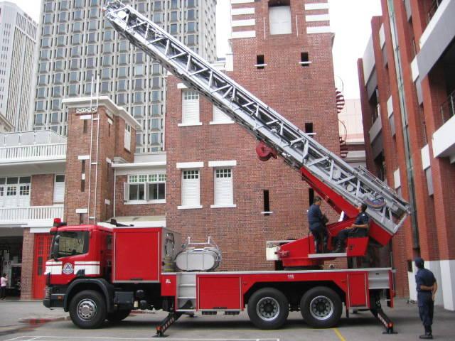 SCDF Aerial Ladder Singapore
