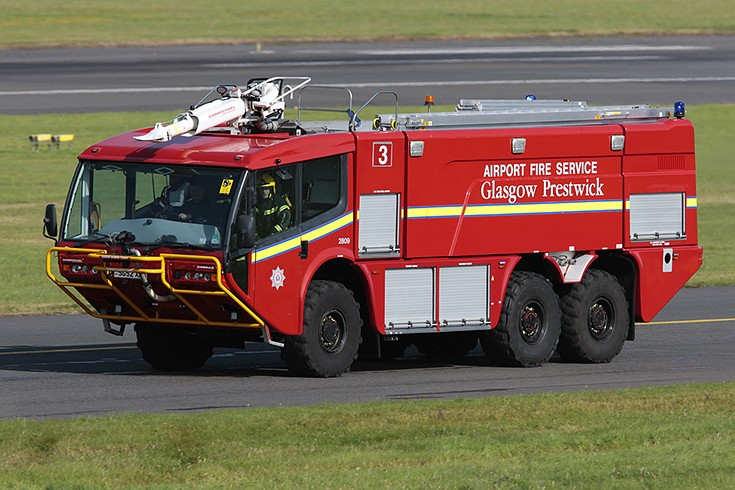 Carmichael Cobra 2 at Prestwick Airport