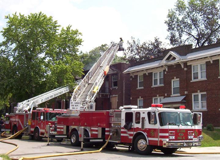 St Louis Fire Department - Ladder 6