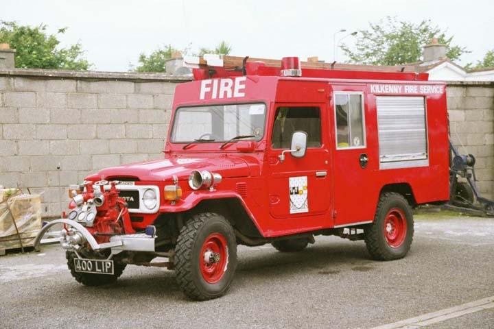 Toyota Land Cruiser Kilkenny Fire Service