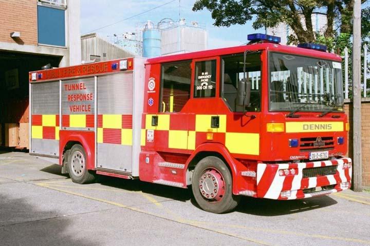Dublin Fire Brigade Tunnel Response Vehicle