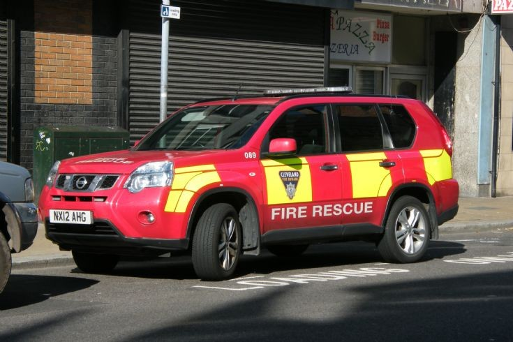 Cleveland Fire Brigade NX12AHG