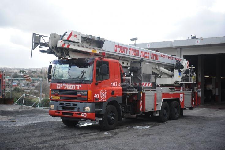 Fire Department Jerusalem - Bronto Skylift