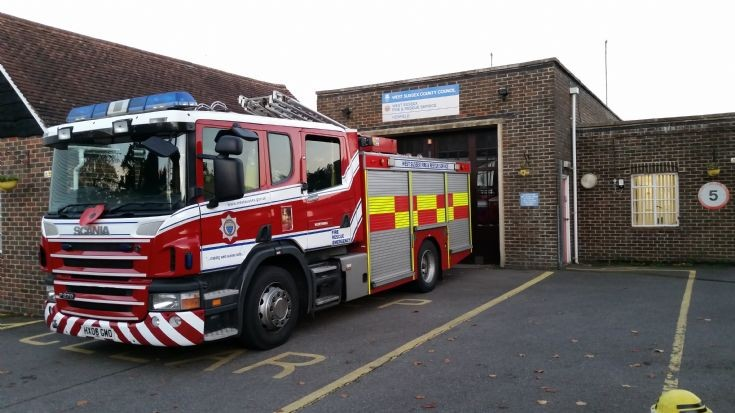 Worthing on standby at Henfield