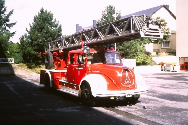 Turntable ladder Luxembourg