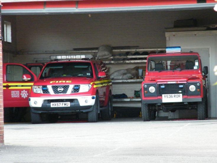 HX57FMU and Y536ROR Havant Rear Yard Bay