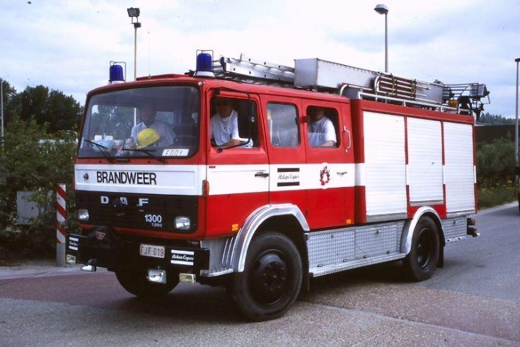 Working fire brigade Atlas Copco