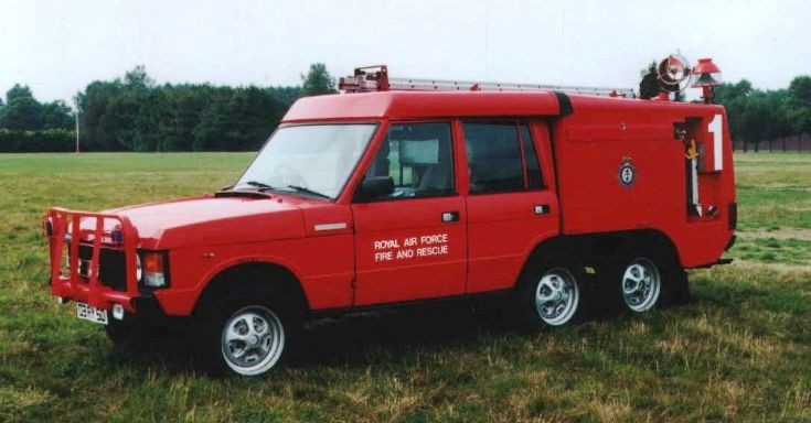 RAF Range Rover Carmichael TACR 2