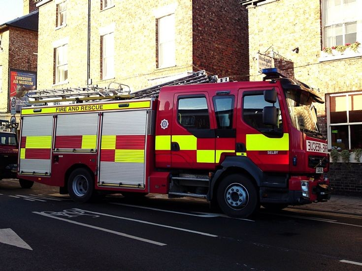 60 plate Volvo rescue pump from Selby