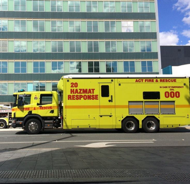 ACTF&R Hazmat Response, Canberra Australia