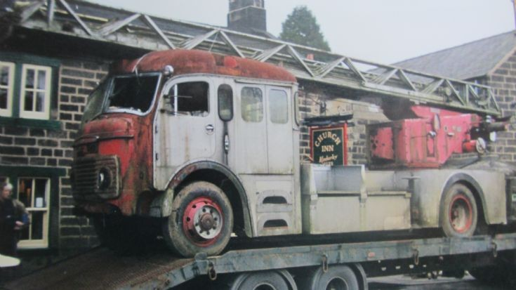 1961 Commer 100ft turntable Ladder