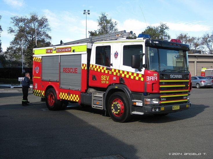 FRNSW Scania SEV, Sydney Australia