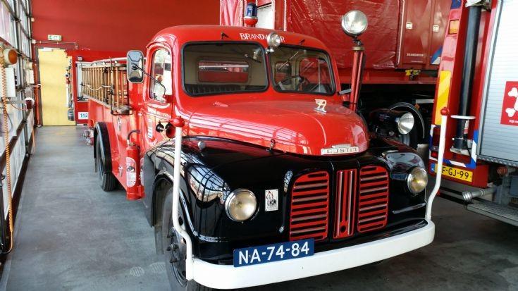 1950 Austin K2 loadstar firetruck