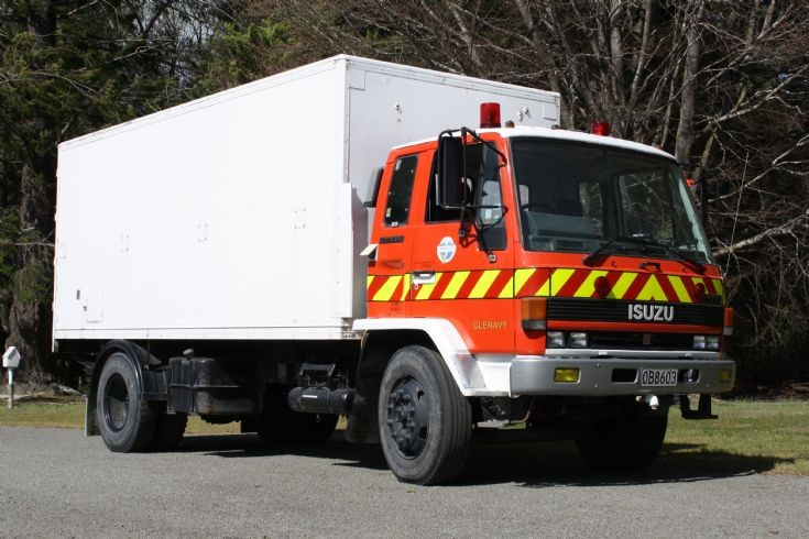 New Zealand Isuzu OB 8603