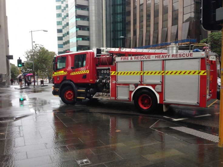 Fire Truck Perth Western Australia