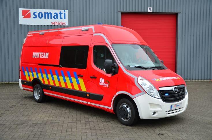 Fire zone Waasland - station Sint-Niklaas