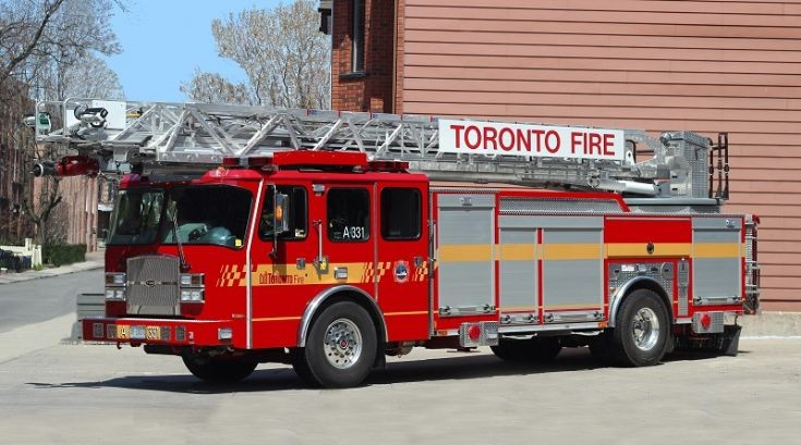 Toronto, ON - Aerial 331