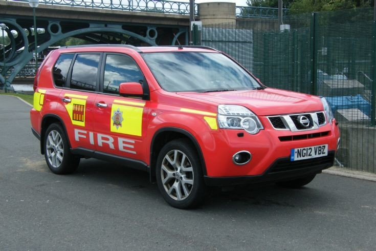 Northumberland Fire & Rescue Service NG12VBZ