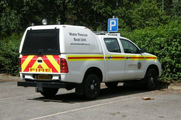Humberside Fire & Rescue Service YX11OJU
