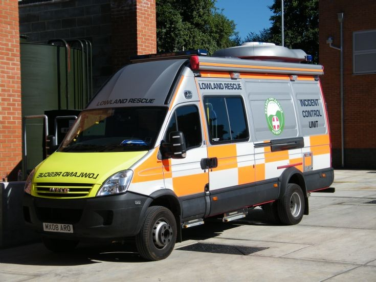 Surrey Search and Rescue Iveco