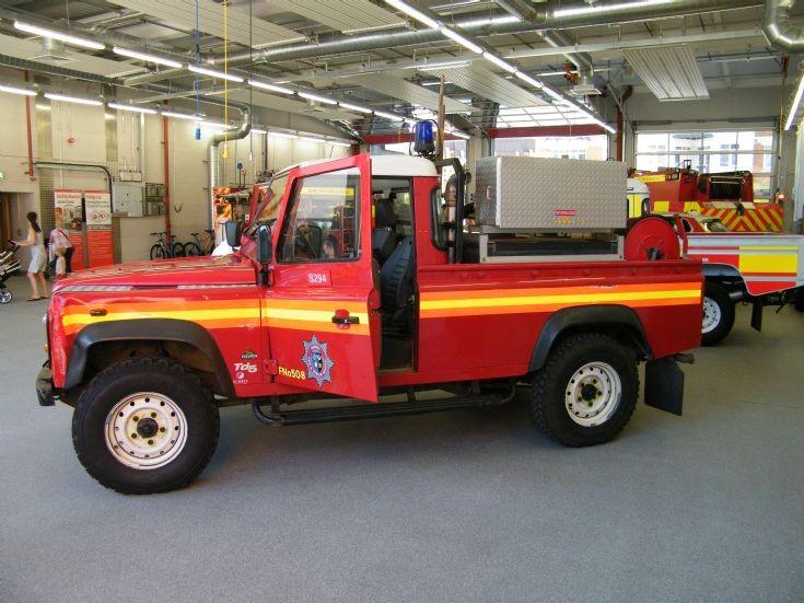 Older Surrey L4T Land Rover
