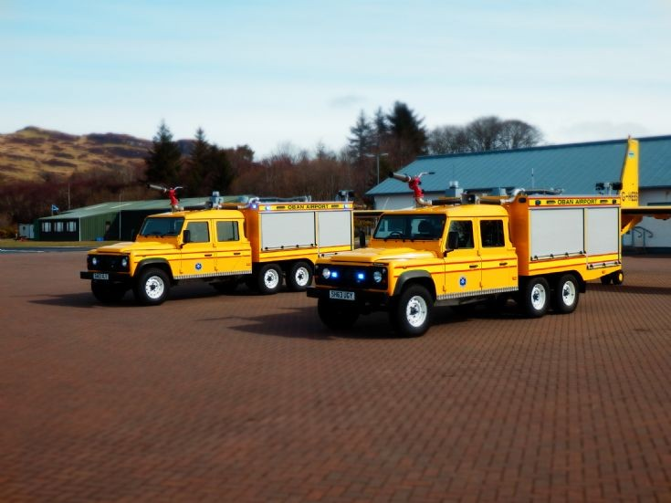 Oban Airport Land Rover 6x4