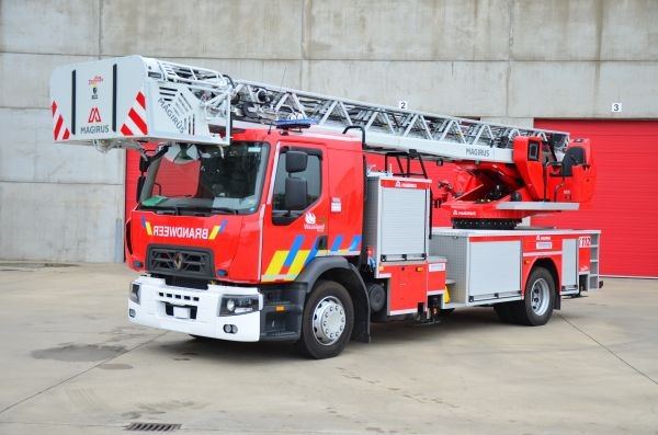 Turntable ladder Renault / Magirus