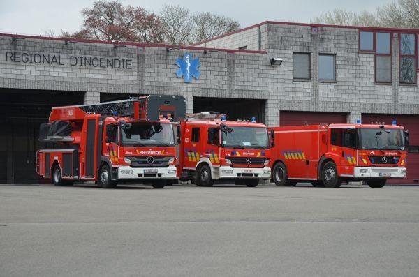 Fire brigade of Huy